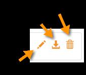 Edit, delete, export campaign logs