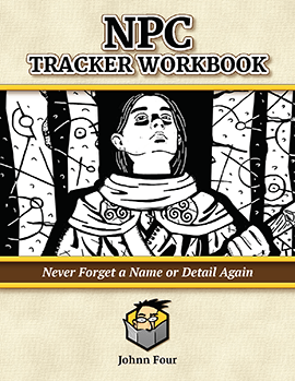 Free NPC Tracker Workbook