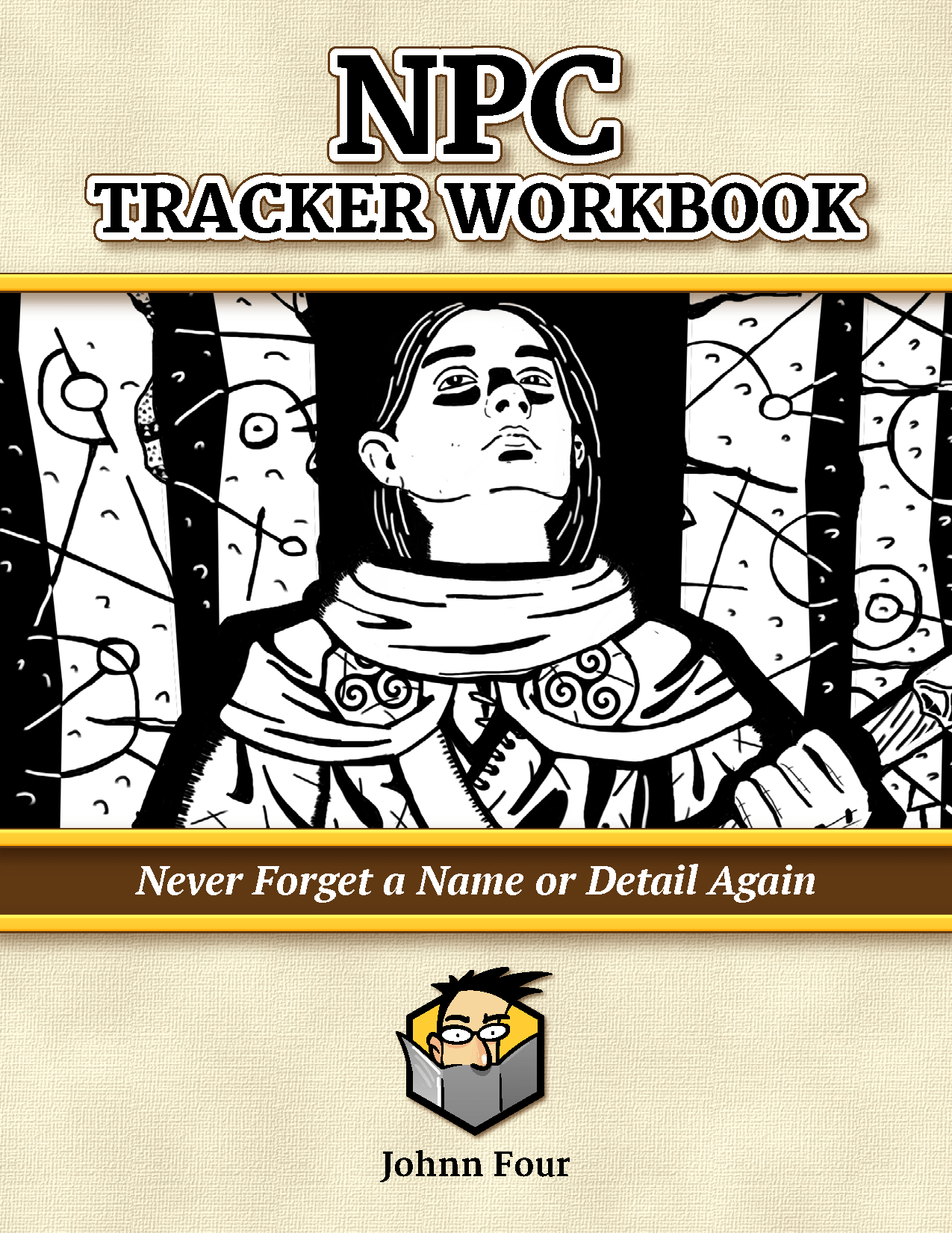 NPC Tracker Workbook cover